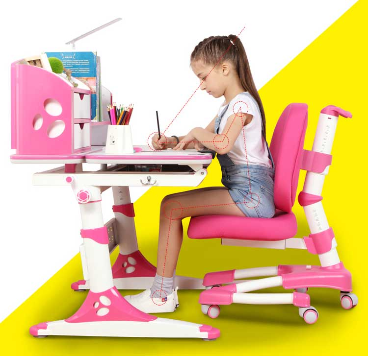 children ergonomic table and chair