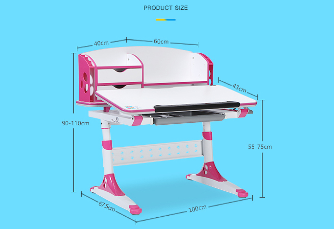 children ergonomic study table